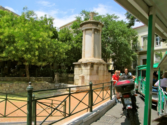 Oldest column in athens dating to about 334 b.c.