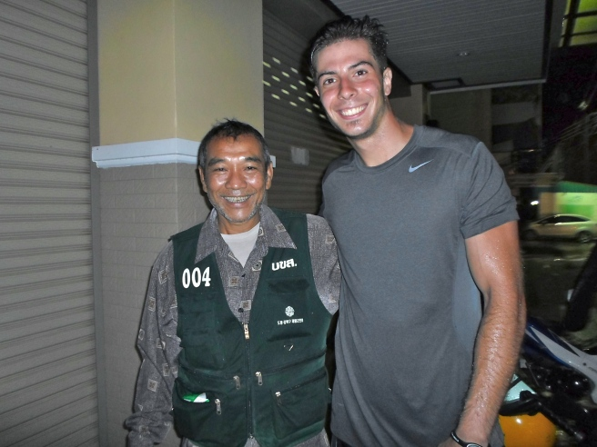 this guy saved me big time. I was 30 something miles out from where my hostel was, caught in another monsoon. If it wasn't for his help who knows when or how I would have made it back.