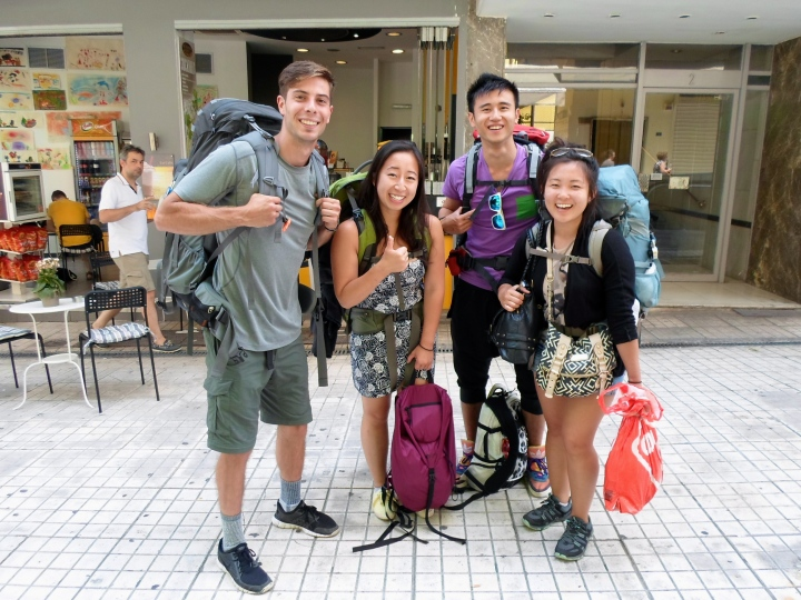 Group of Asians once again came to the rescue! I had no map and little directions and these guys came through with a route to get to my hostel:) super chill group of individuals!